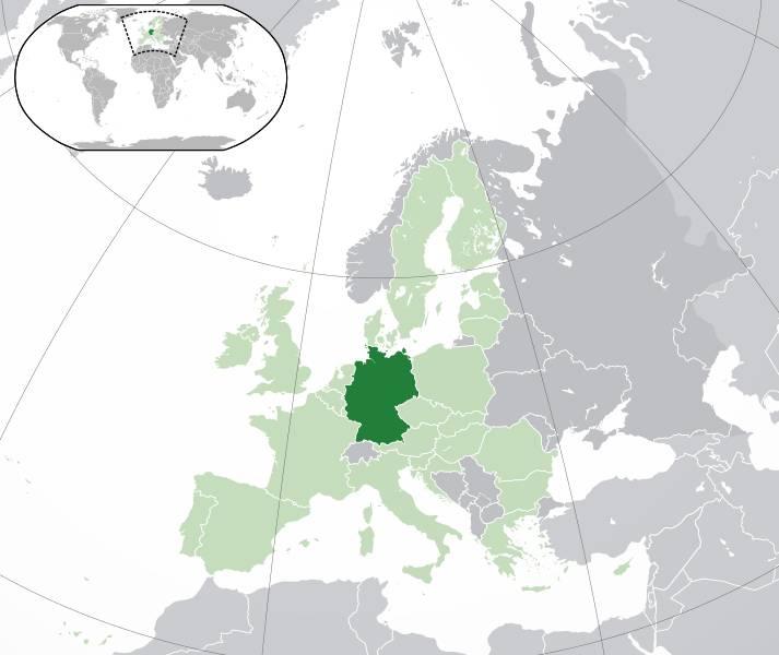 Où se trouve l'Allemagne ?
