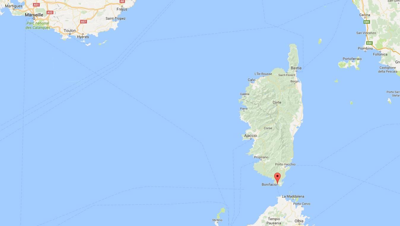 Où se trouve Bonifacio en Corse