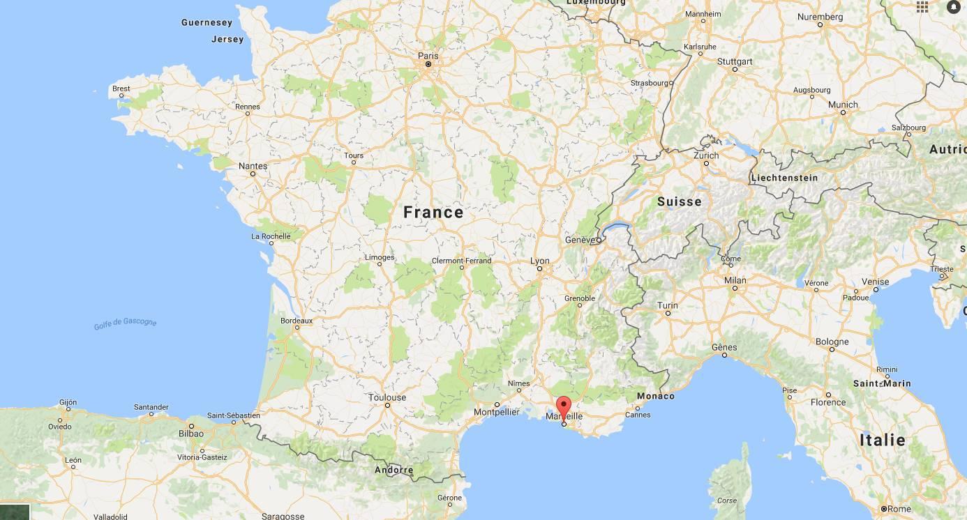 Où se trouve Marseille