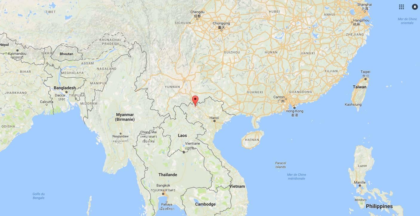 Où se trouve Muong Hoa Valley au Vietnam ?