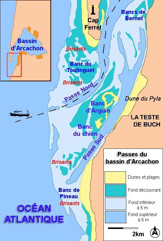 Plan de la Dune du Pilat