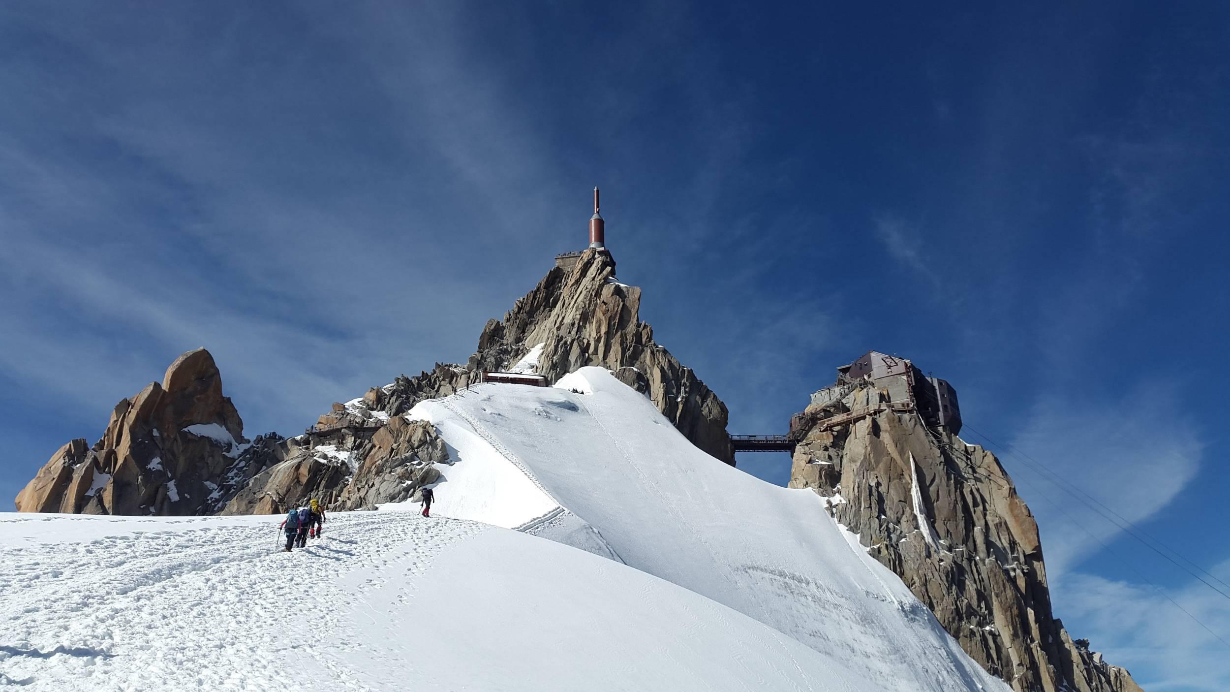 Visite de l'Aiguille du Midi