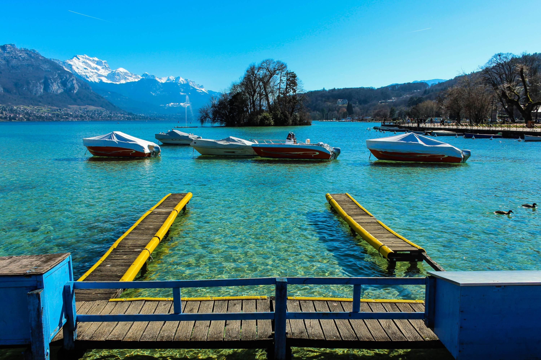 Visite du lac d'Annecy