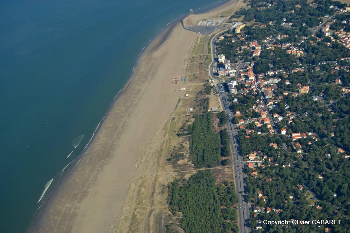 Vue aérienne de Saint-Brévin-les-Pins