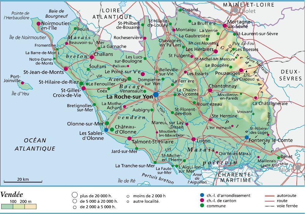 carte-de-la-vendee - Photos