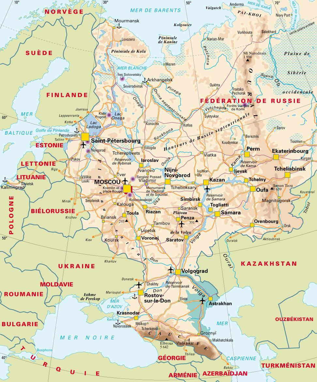 Partie Européenne de la Russie