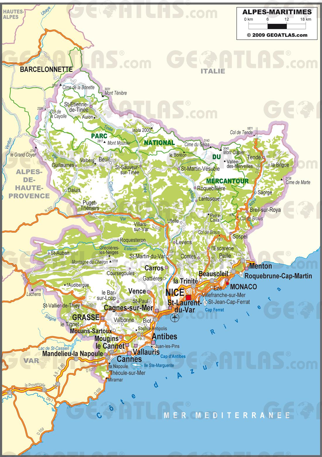 carte-des-alpes-maritimes