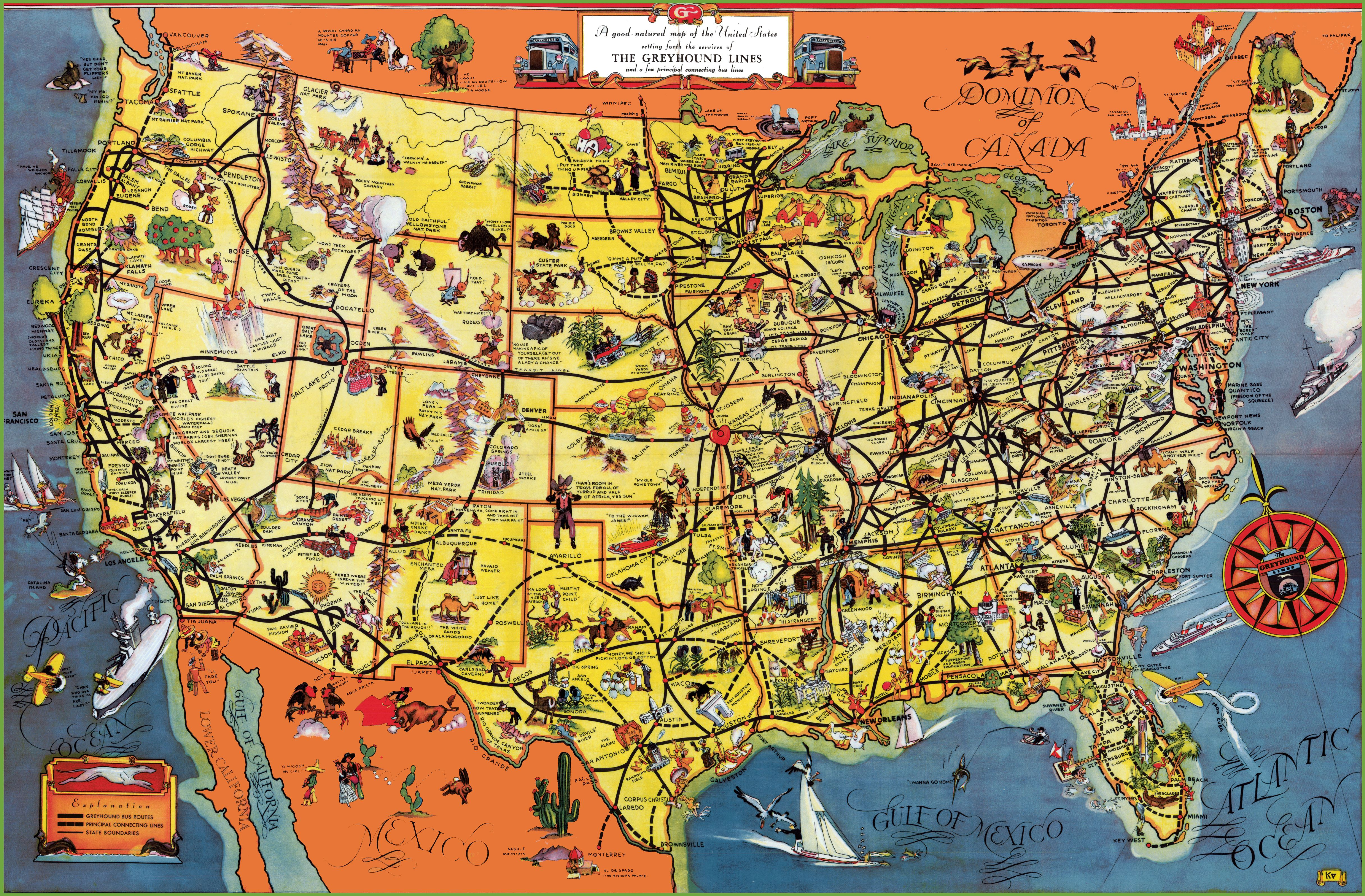 Map Of Usa Tourist Attractions Map Free Download Images World Maps Map Of Us Tourist