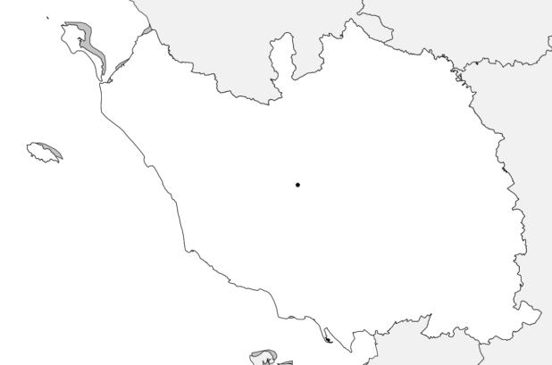 Carte vierge de la Vendée