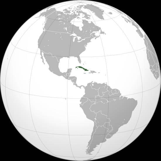 Où se trouve Cuba