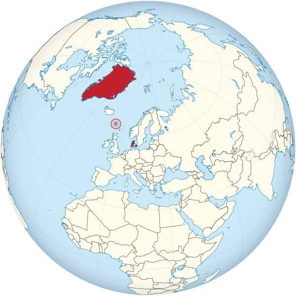 Où se trouve le Danemark sur une carte ?