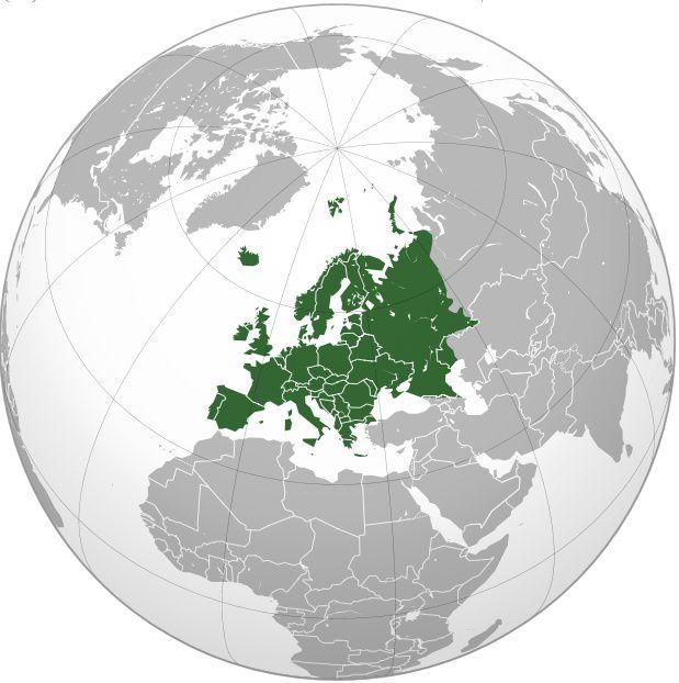 Où se trouve l'Europe