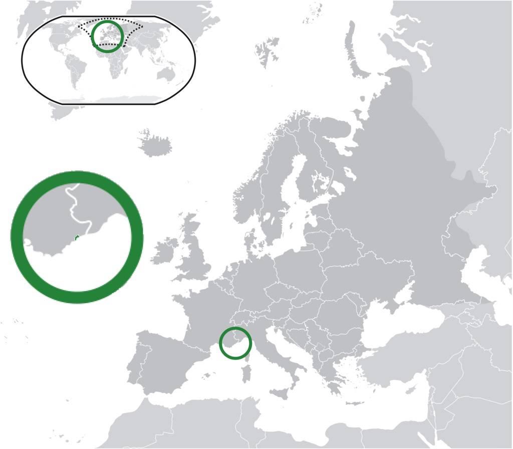 Où se trouve Monaco