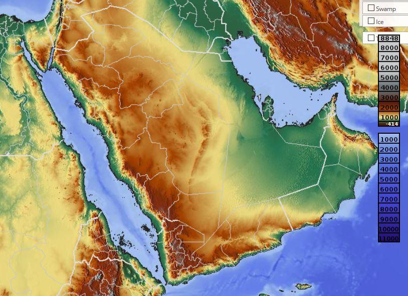 carte de l arabie saoudite Carte de l'Arabie Saoudite   Arabie Saoudite carte des villes