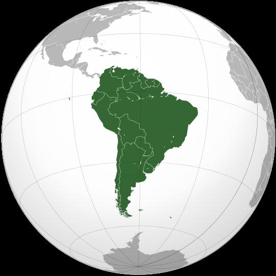 Où se trouve l'Amérique du Sud