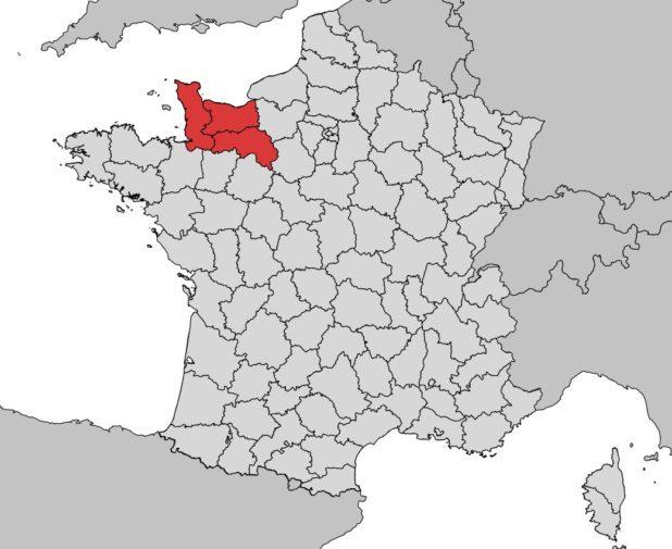Où se trouve Basse Normandie ?