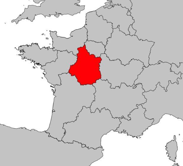 Où se trouve le Centre-Val de Loire sur une carte de France ?