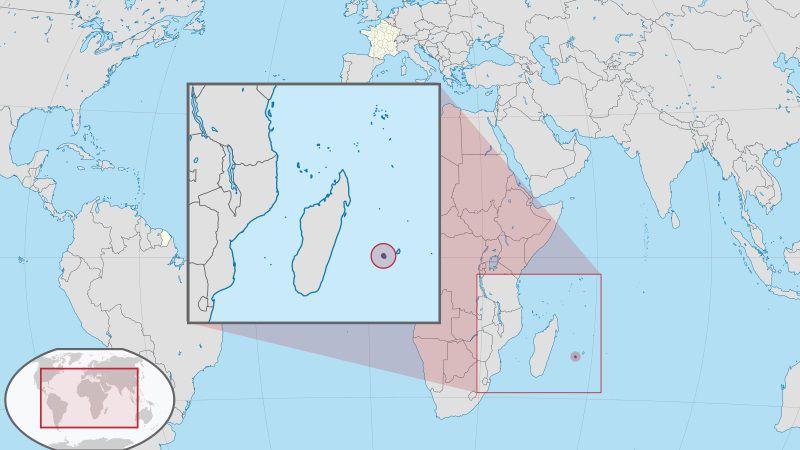 Où se trouve La Réunion sur une carte du monde ?