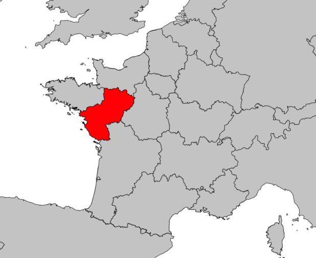 Où se trouve les Pays de la Loire en France
