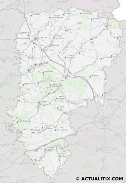 Aisne carte