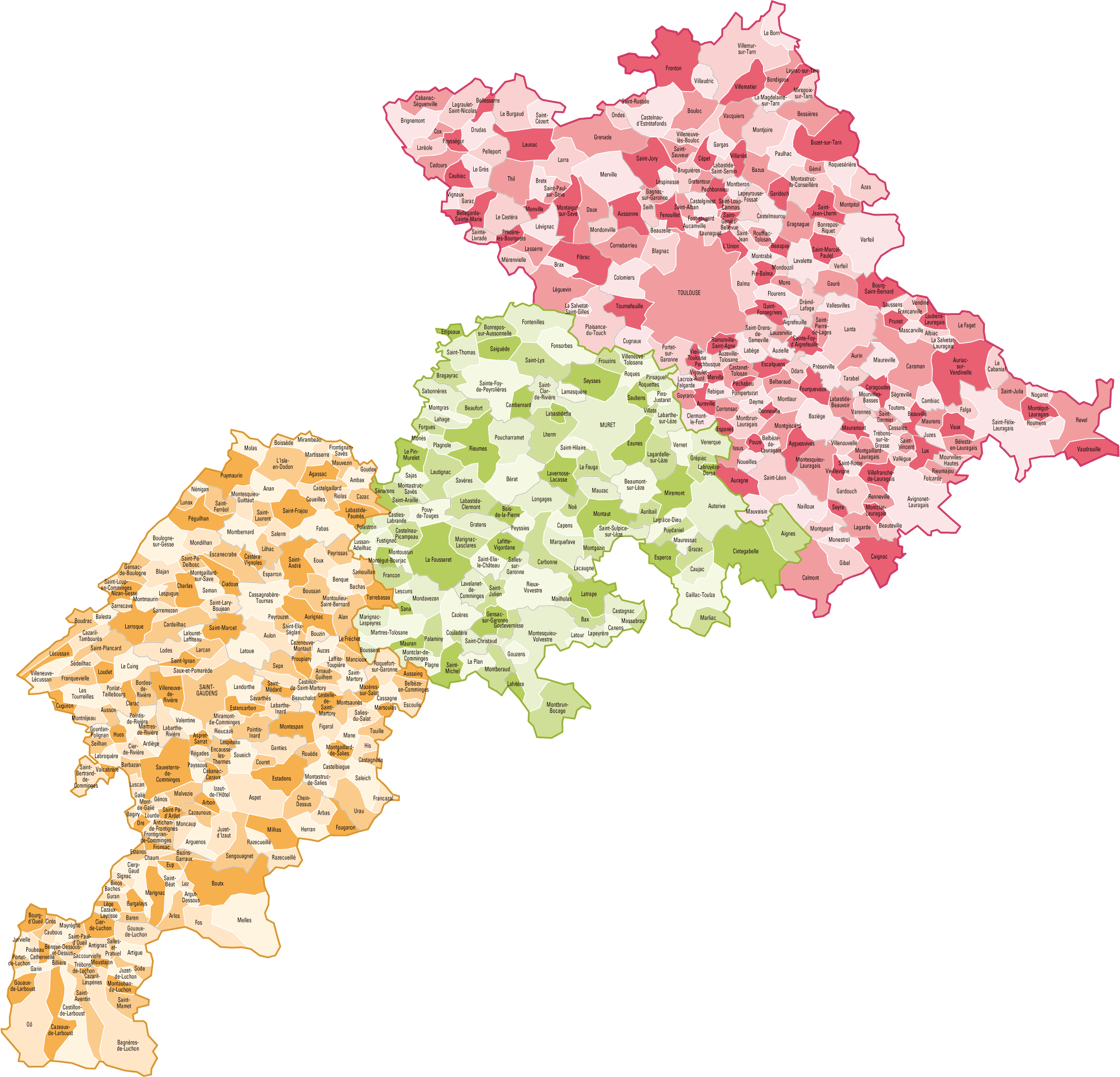 Liste Habitants Villes France