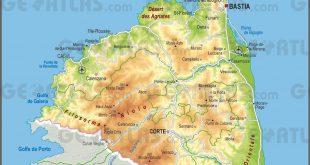 Carte de la Haute-Corse
