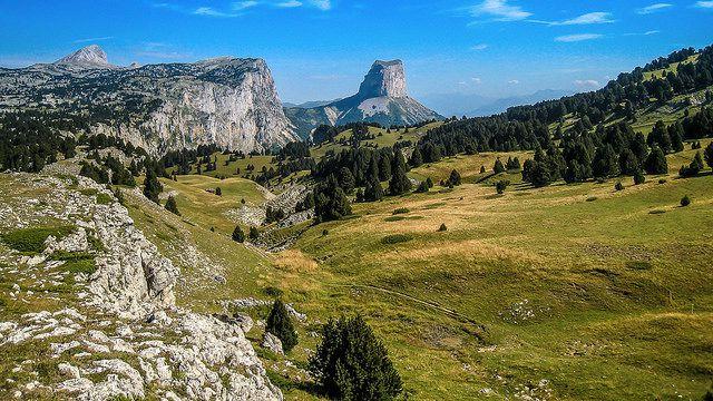 Mont Aiguille - Massif du Vercors