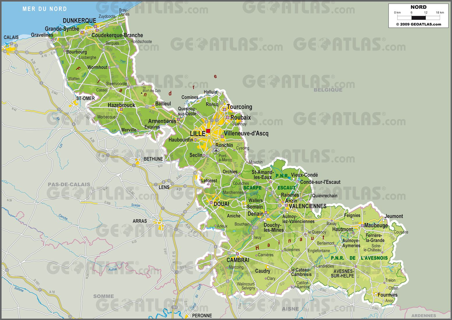 carte-nord - Photos