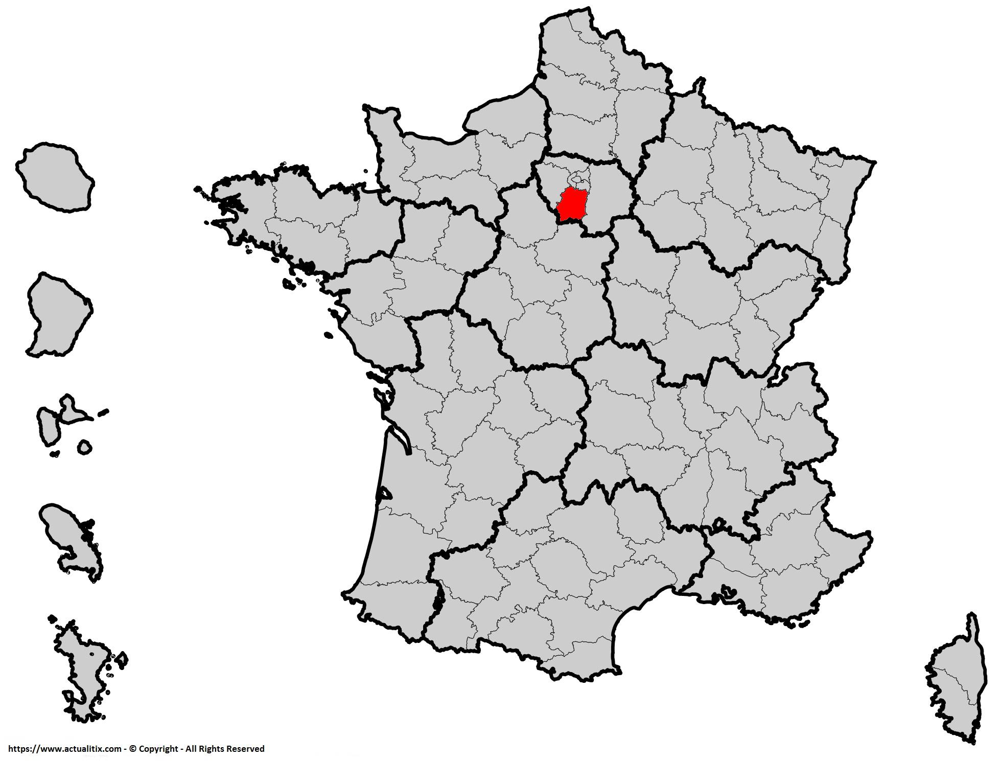 Où se trouve l'Essonne en France ?