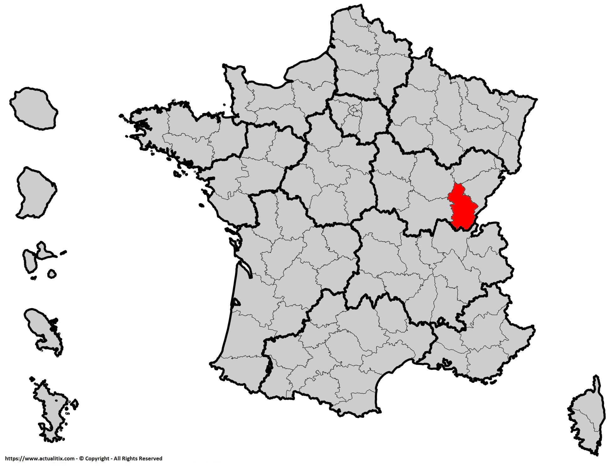 Où se trouve le Jura en France ? Département 39