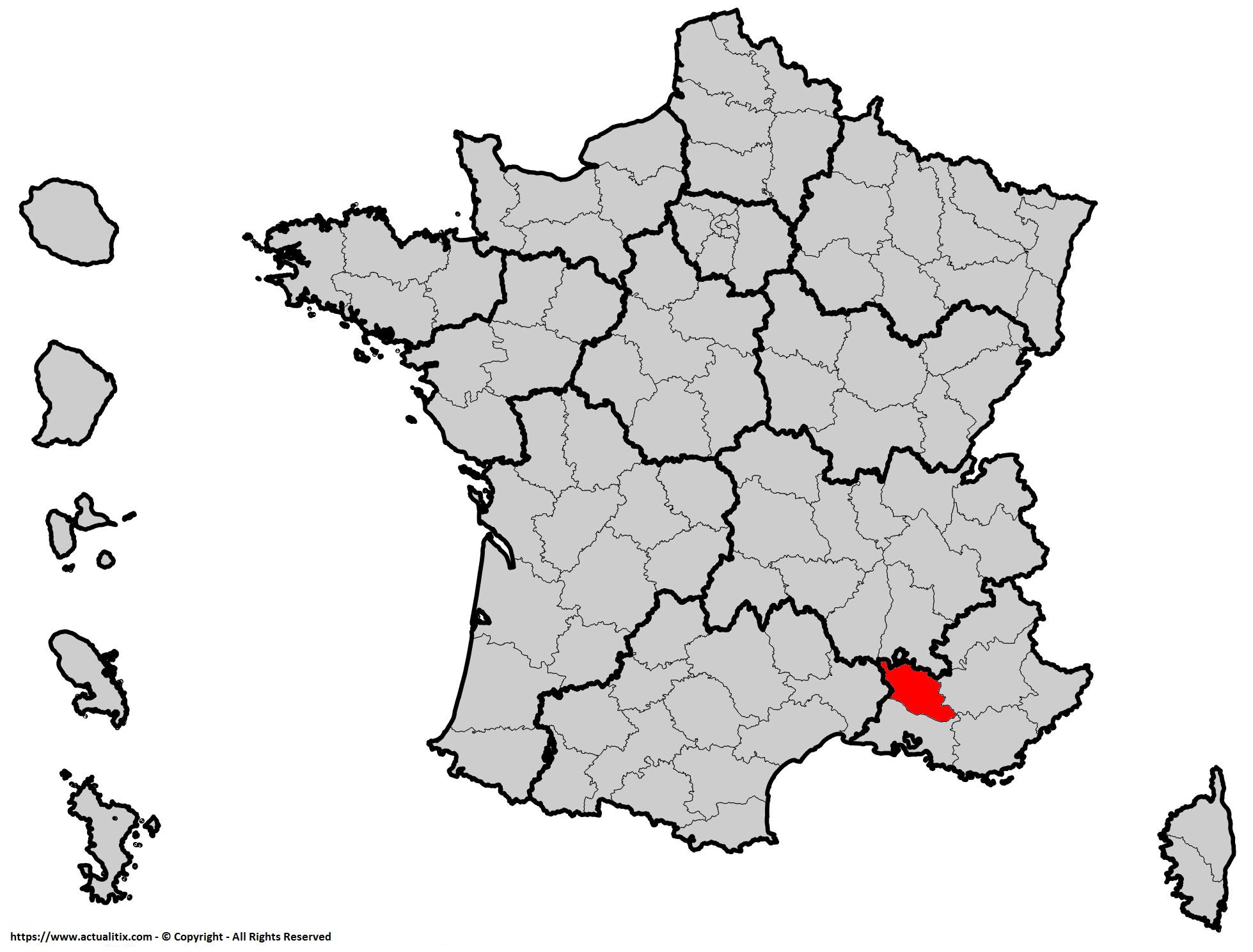Où se trouve le Vaucluse en France ? Département 84