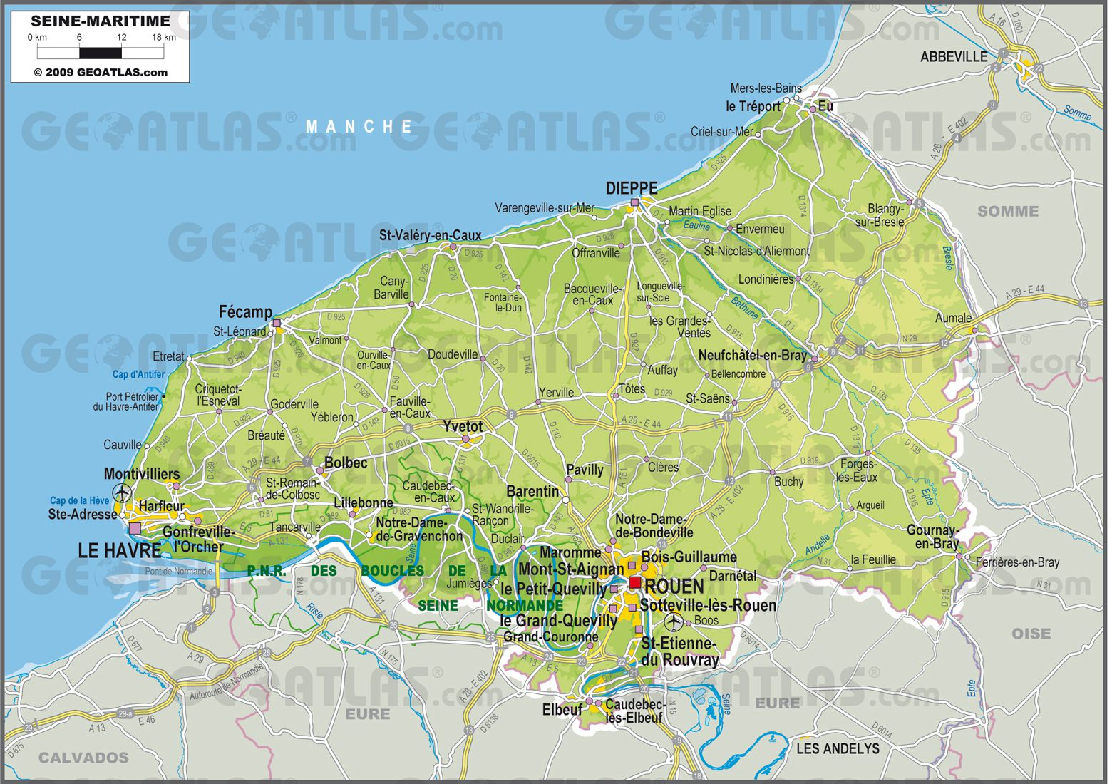 Seine-Maritime carte