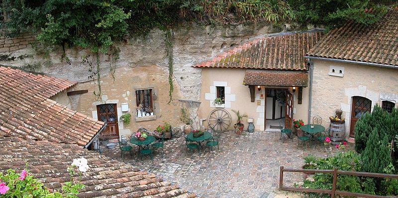 Village Troglodyte de Rochemenier