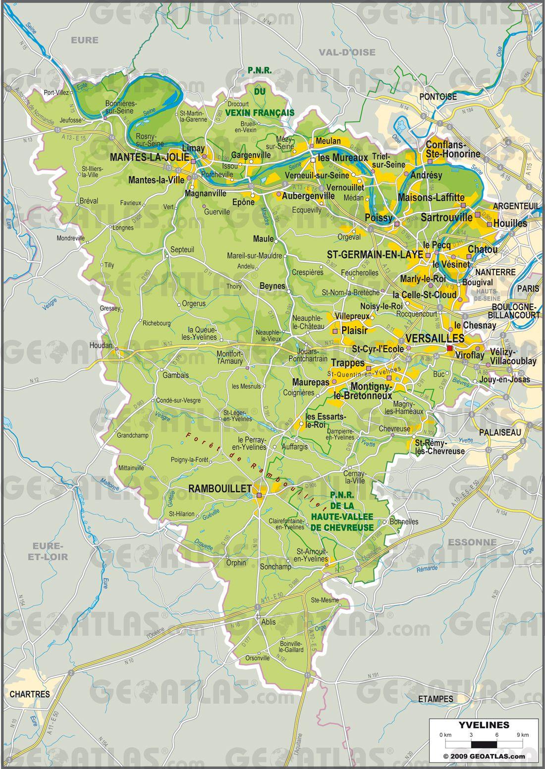 Yvelines cartes
