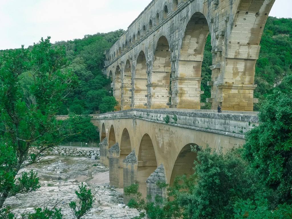 Autre vue du Pont du Gard