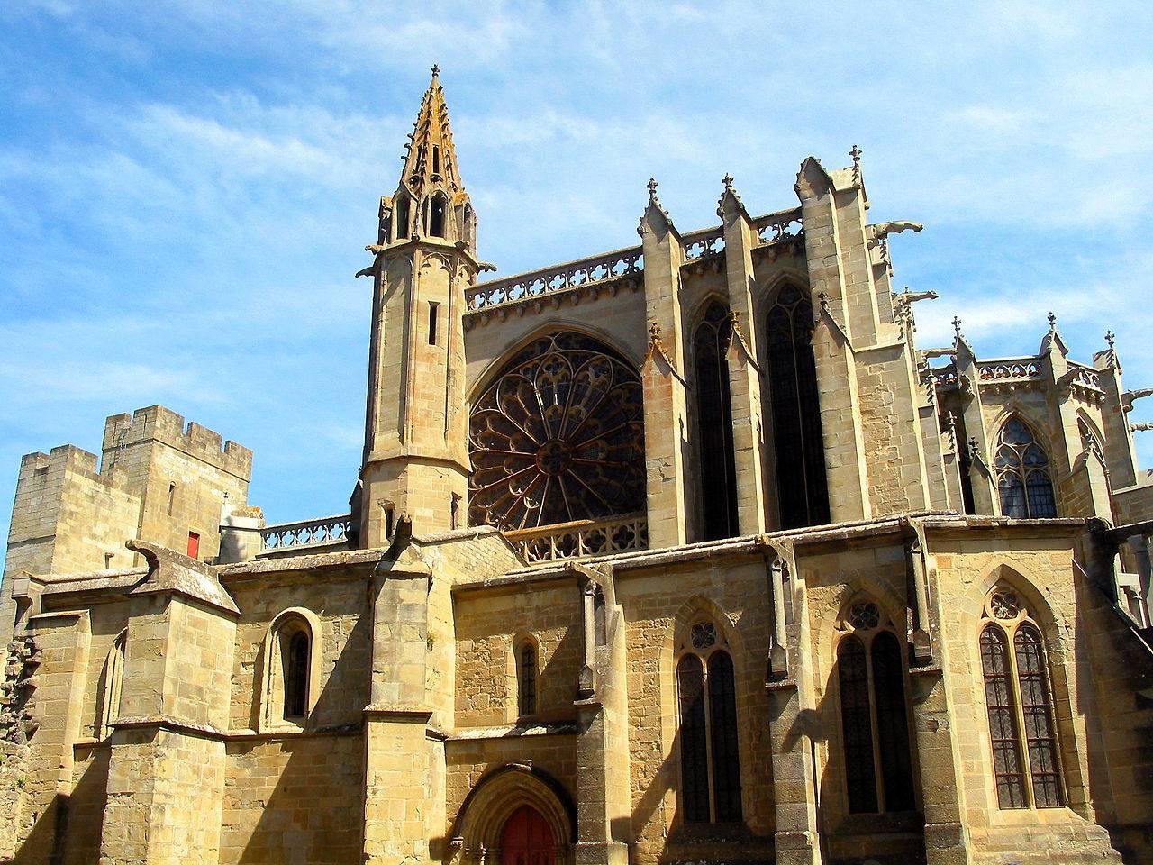 Basilique Saint-nazaire à Carcassonne