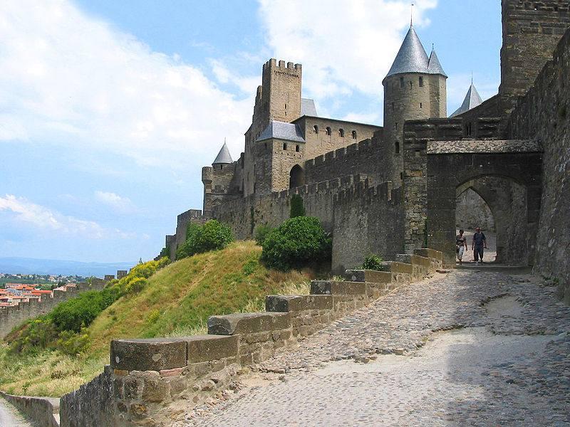 Porte de l'Aude à Carcassonne