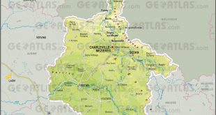 Carte des Ardennes
