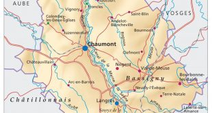 Carte de la Haute-Marne