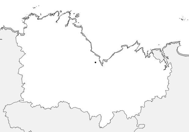 Carte vierge des Côtes d'Armor