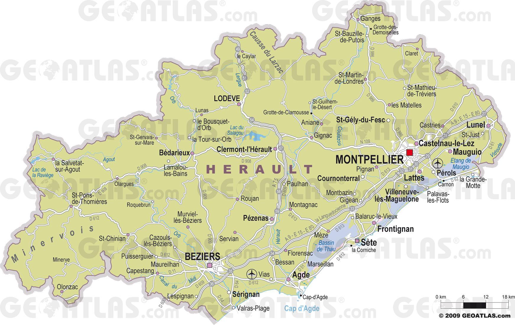 Carte Des Ville De Plus De  Habitants En France