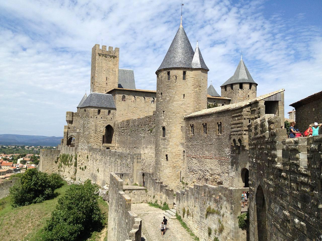 Fortification dans la Cité de Carcassonne