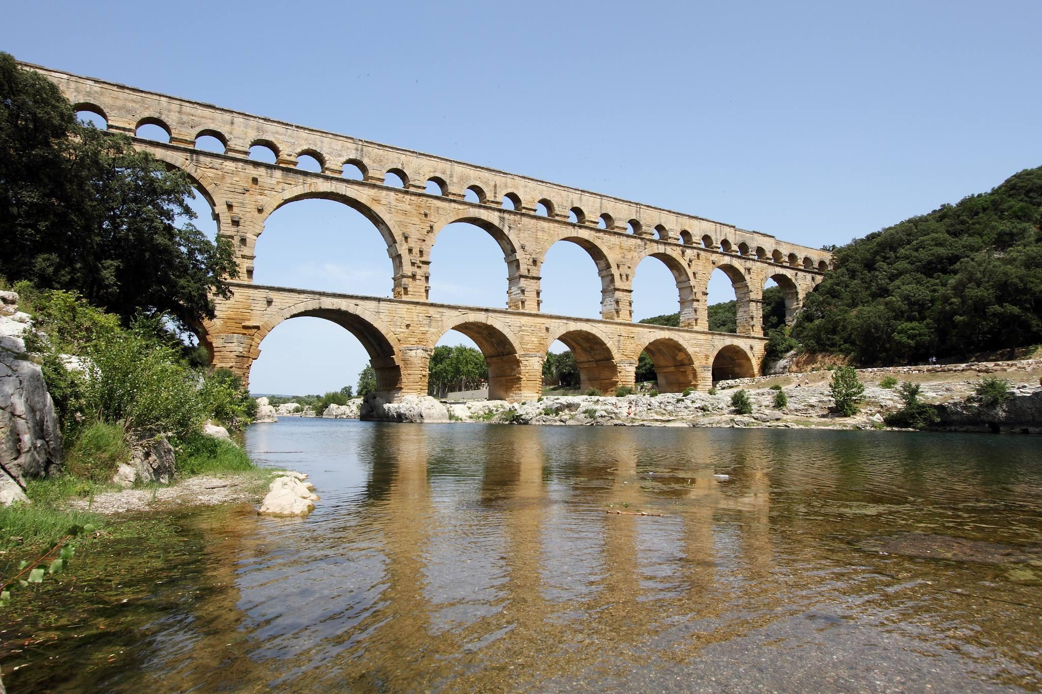Gardon et le Pont du Gard