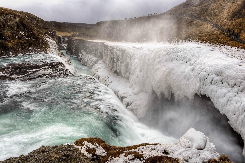 Gullfoss - Un des plus célèbre paysages de l'Islande