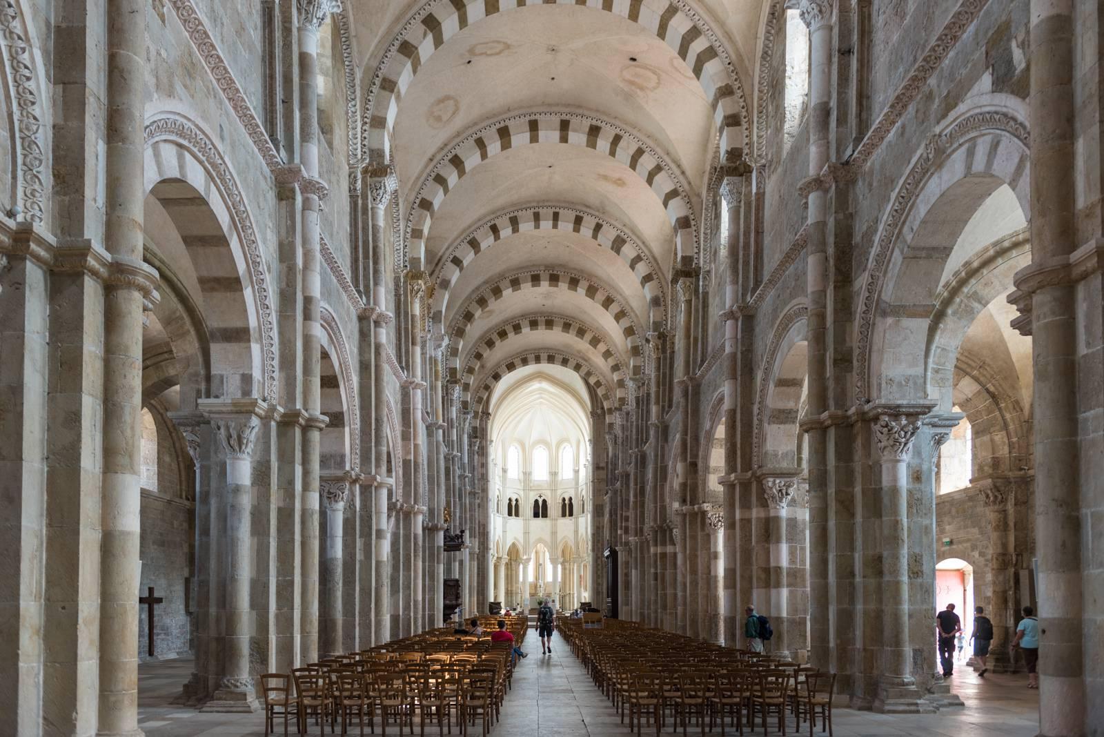 Intérieur de la Basilique de Vézelay