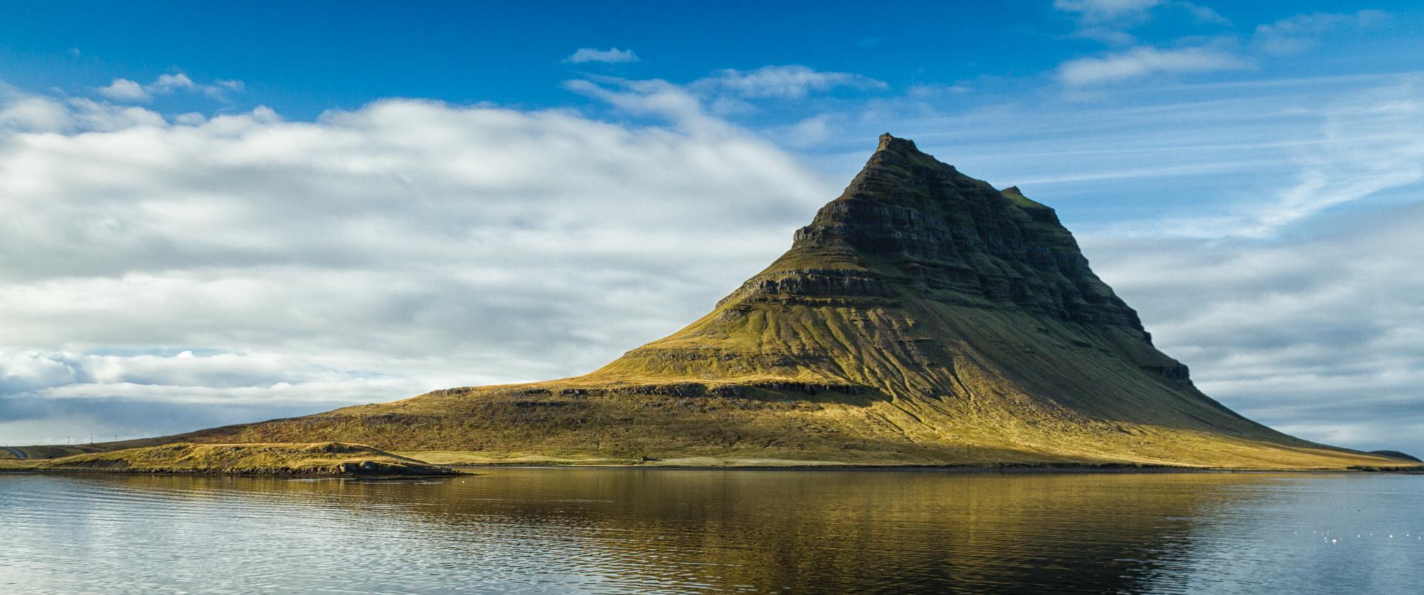Kirkjufell en Islande