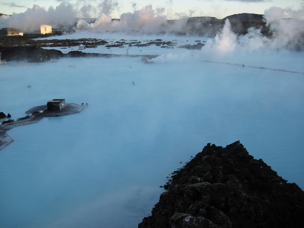 Lagon bleu - Géothermie ne Islande