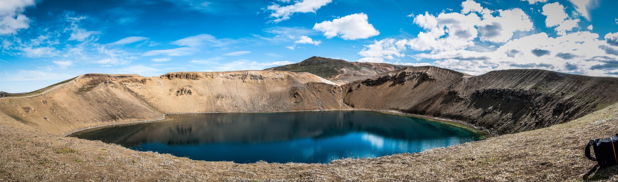 Mývatn (Myvatn) - cratère et lac en Islande