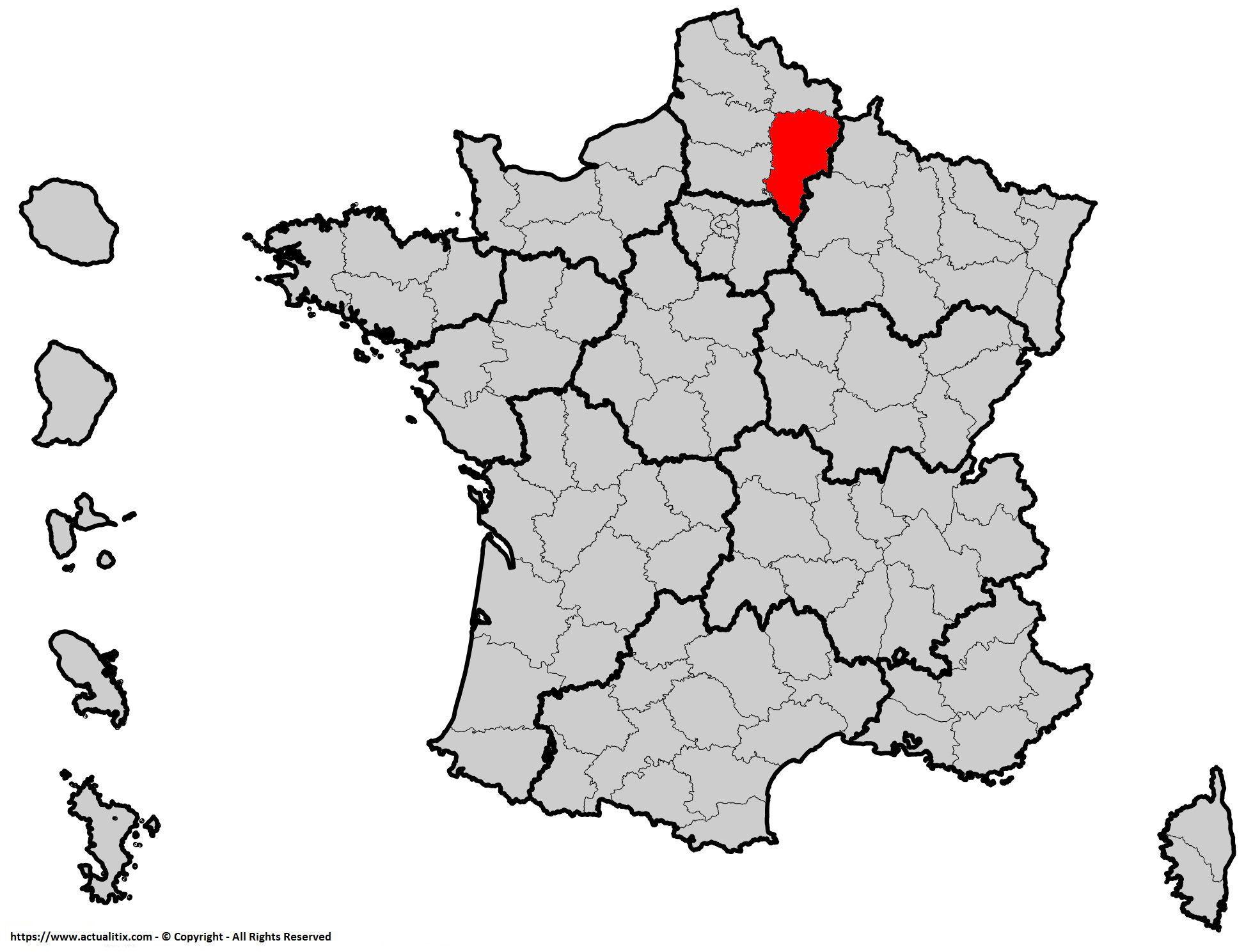 Carte De L Aisne Villes