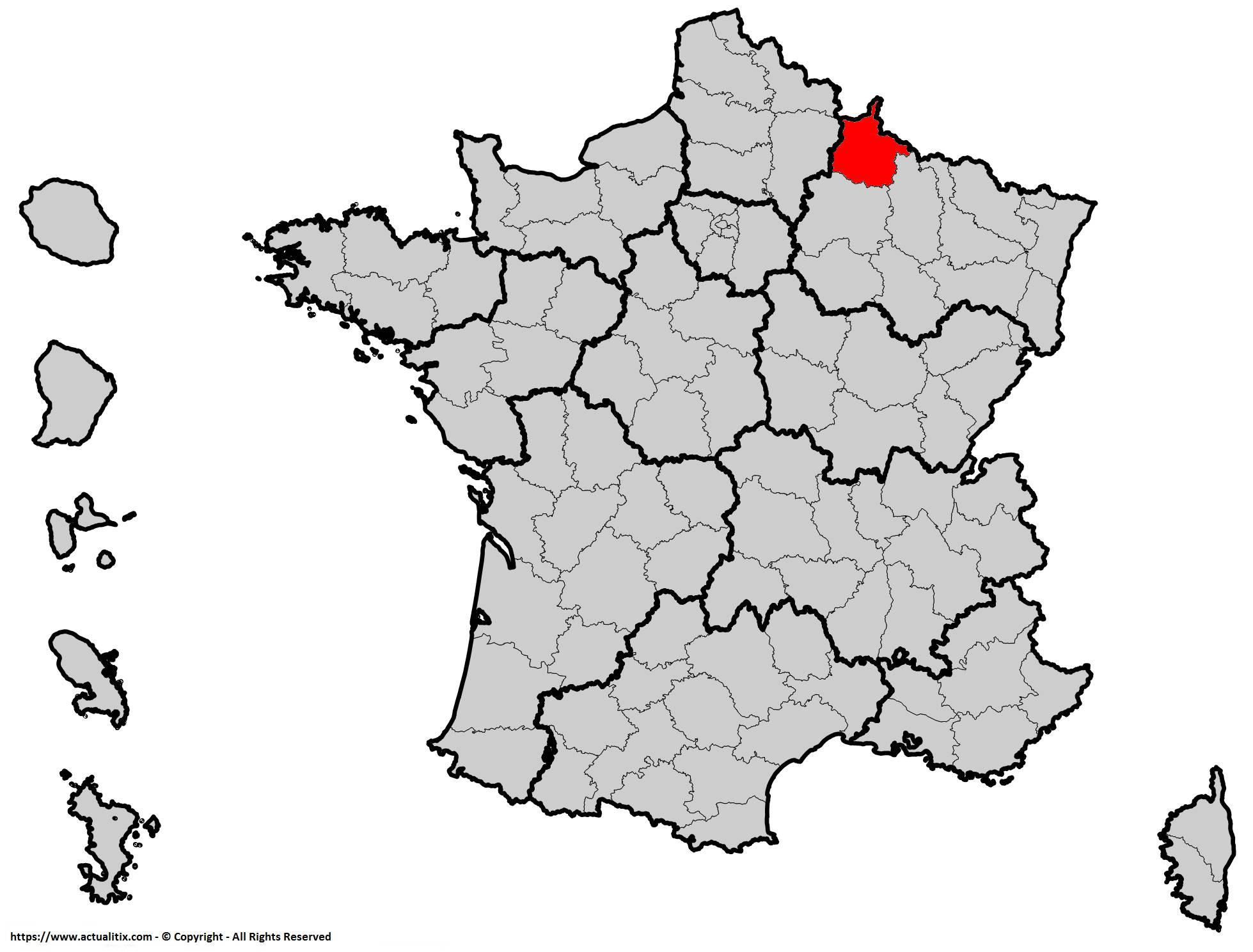 Où se trouve les Ardennes en France ? Département 08